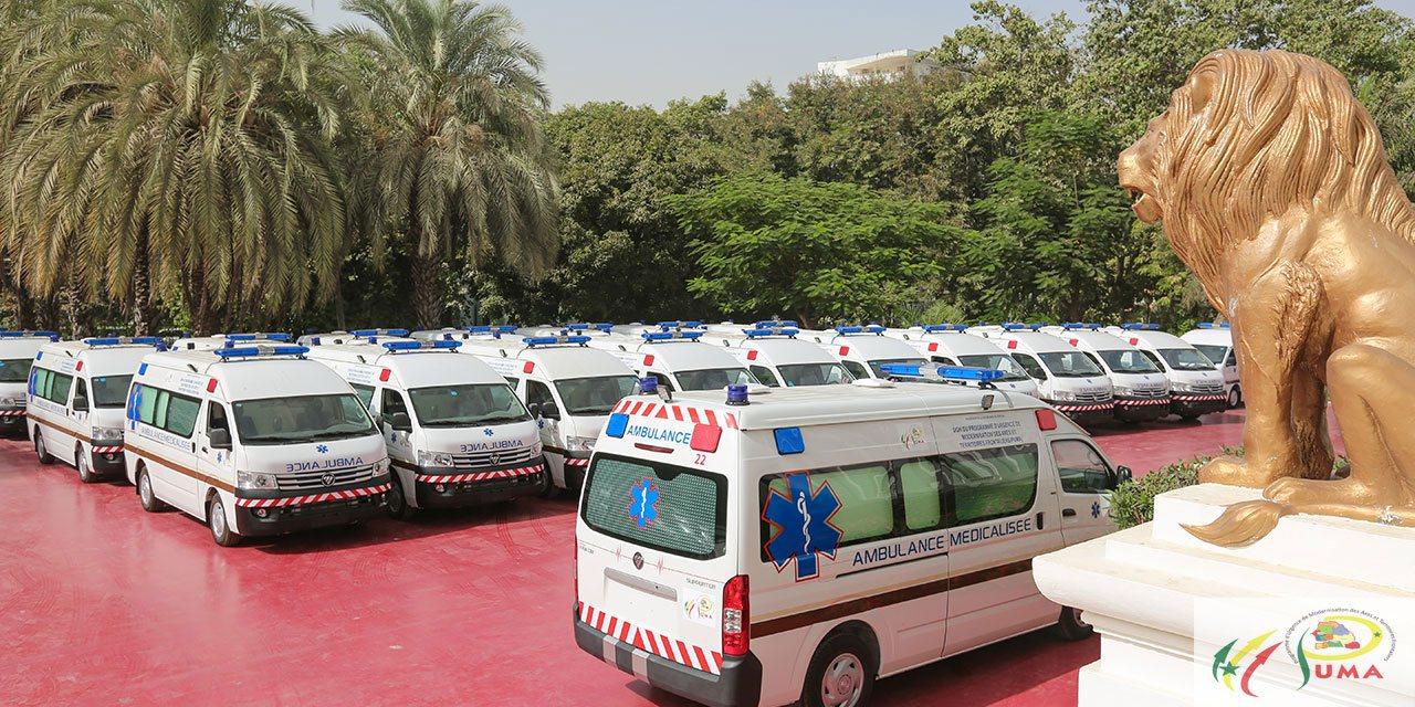 Réception des ambulances médicalisées