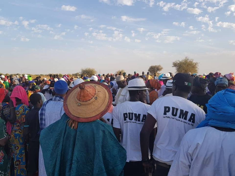 Le site d'implantation d'un forage multi villages  (Madina Ndiadjbe)