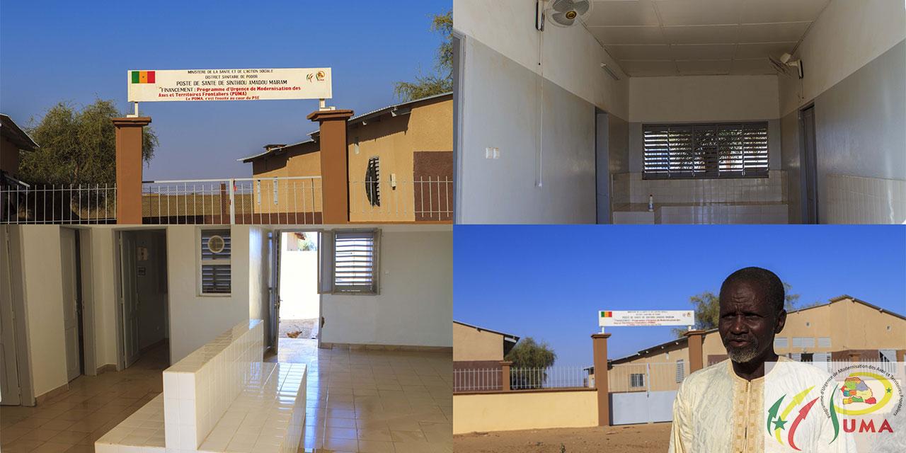 Composante 2 : Développement durable / poste de sante de Sinthiou Amadou Mairam