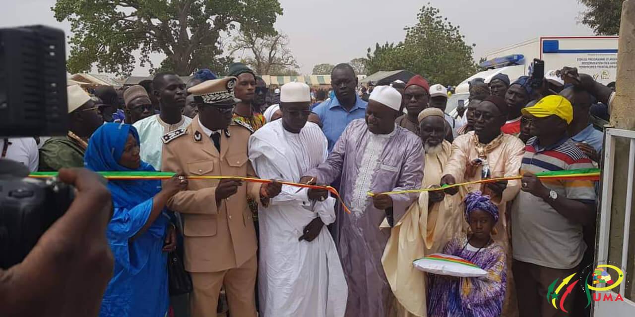Inauguration du  poste de santé de Sinthiou Amadou Mariam à Podor