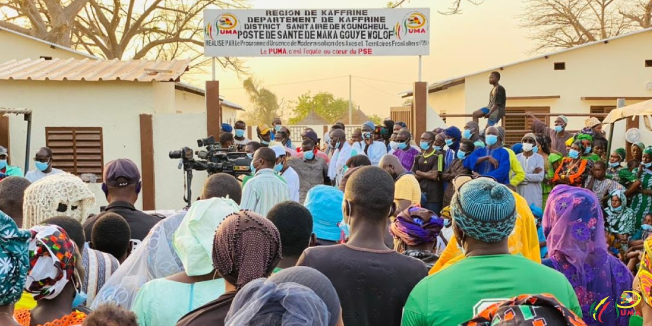 Ouverture officielle du poste de santé de Maka Gouye Wolof (Kaffrine).