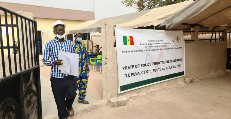 Kaffrine: Un poste de police frontalier moderne inauguré à Nganda