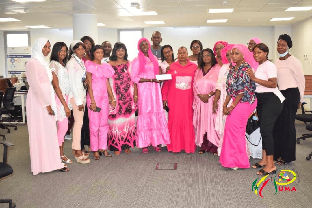 Octobre Rose, Le personnel du PUMA se solidarise aux malades